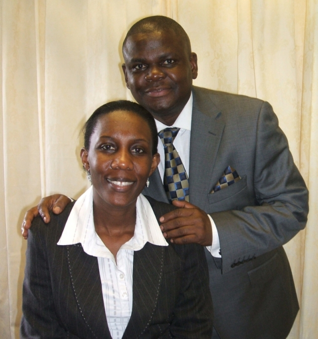 Pastor Freddie and Evelyn Kawuma