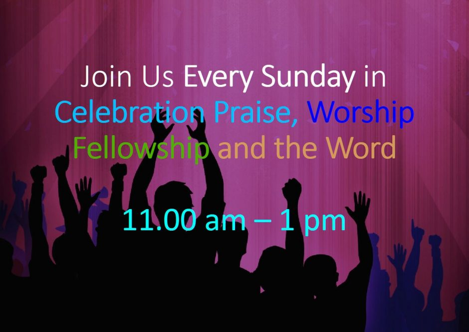 Celebration Service Time at Real Life Church - Eltham, London SE9 6DN