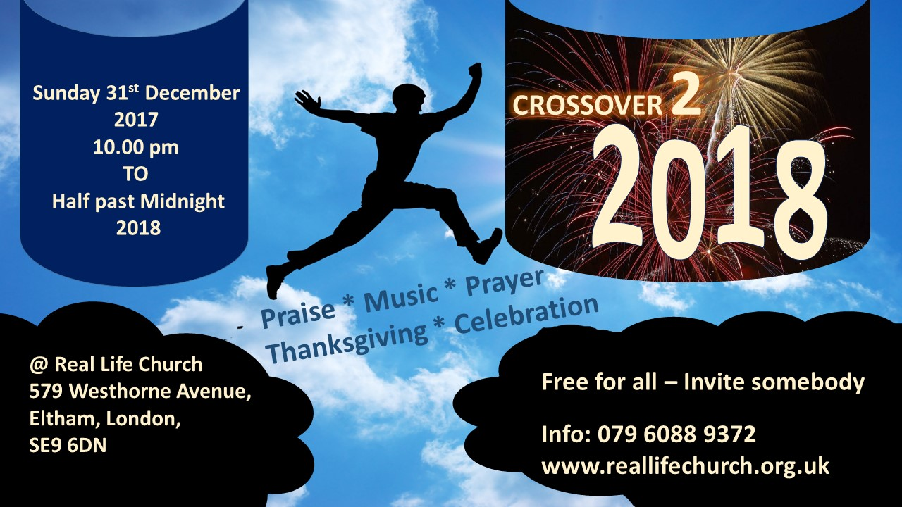 new year cross over night 31st december 2017 into 2018