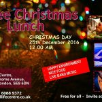 Christmas Lunch 2016 at Real Life Centre - Eltham