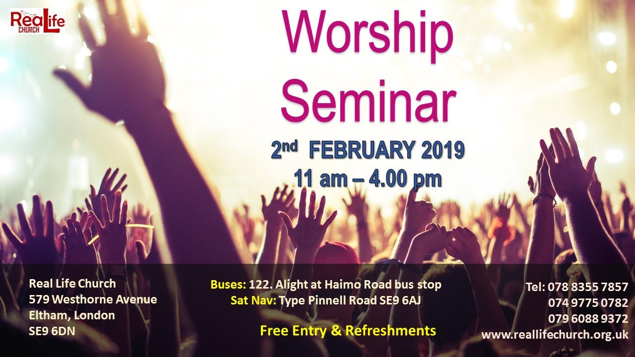 Worship Seminar 2019