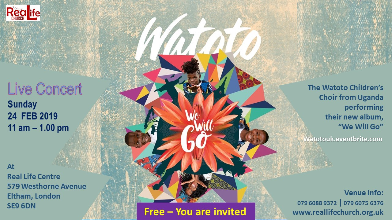Watoto Choir in guest concert